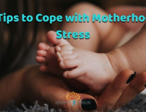 Four Tips to Cope with Motherhood Stress