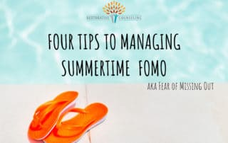 Four tips to managing summertime FOMO